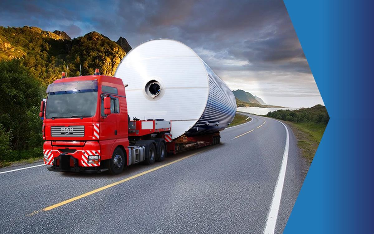 Особенности перевозки негабаритных грузов по РФ